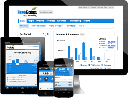 Features of Freshbooks