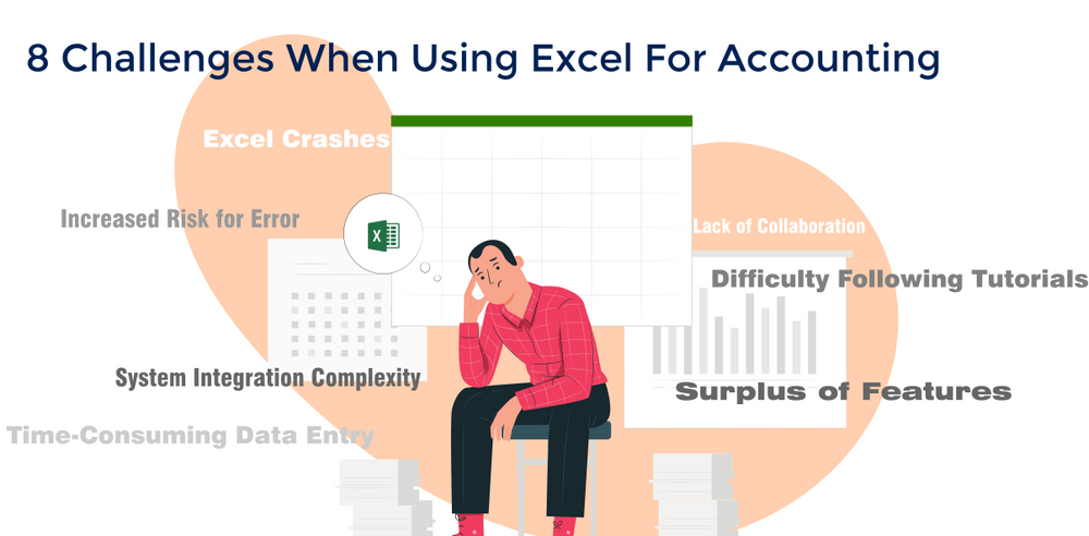 Difficulties While Working on Excel for Accounting
