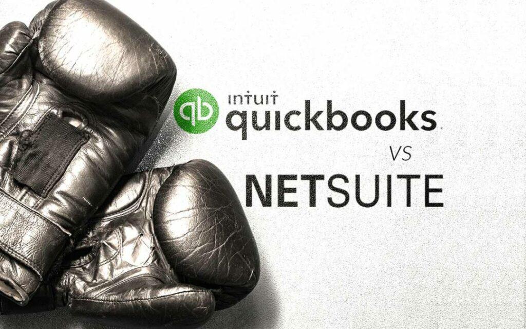 quickbooks vs Netsuite pricing