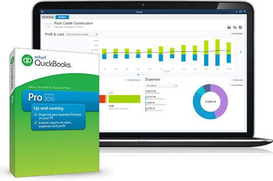 Features of QuickBooks Desktop
